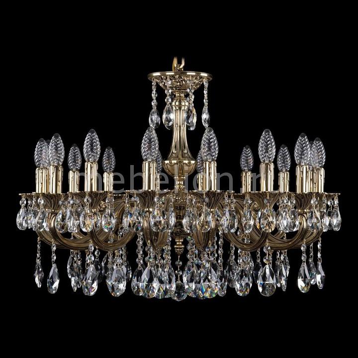 Подвесная люстра Bohemia Ivele Crystal 1702/16/A/GB 1702