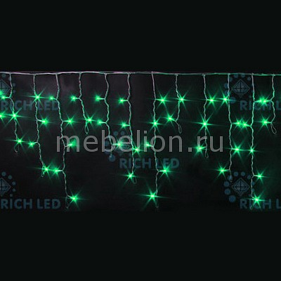 Бахрома световая (3х0.5 м) RichLED RL-i3*0.5F-RW/G бахрома световая 3х0 5 м richled rl i3 0 5 rw ww