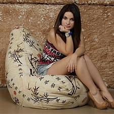 Кресло-мешок Стебли бамбука I