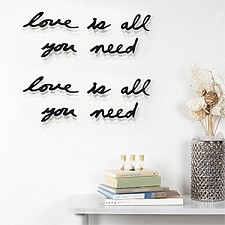 Панно (33.3х41.3 см) Love is all you need 470580-040