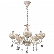 Подвесная люстра Arte Lamp A4554LM-5WG Fleece