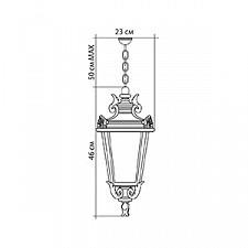 Подвесной светильник Feron 11373 Прага