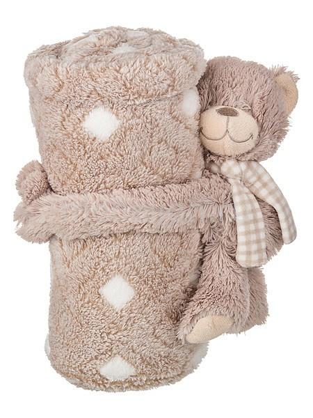Плед детский АРТИ-М (75х100 см) Тедди статуэтка арти м 37 см дама 50 029
