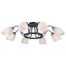 Потолочная люстра Arte Lamp A7144PL-8BK Fiorentino