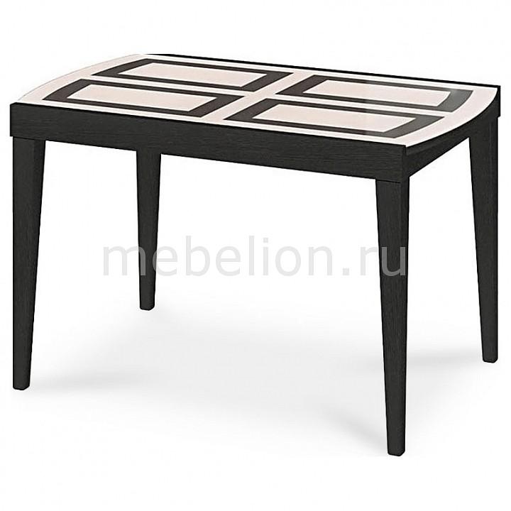 Стол обеденный Мебель Трия Танго Т2 С-362 венге/рисунок стол обеденный мебель трия диез т4 с 345 венге рисунок