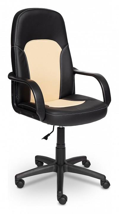 Кресло компьютерное Tetchair Parma черный_бежевый