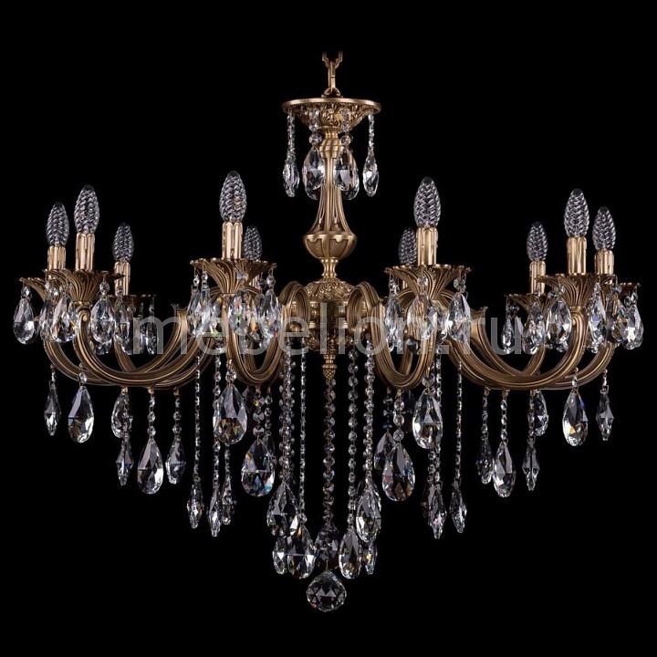Подвесная люстра Bohemia Ivele Crystal 1702/10/335/B/FP 1702