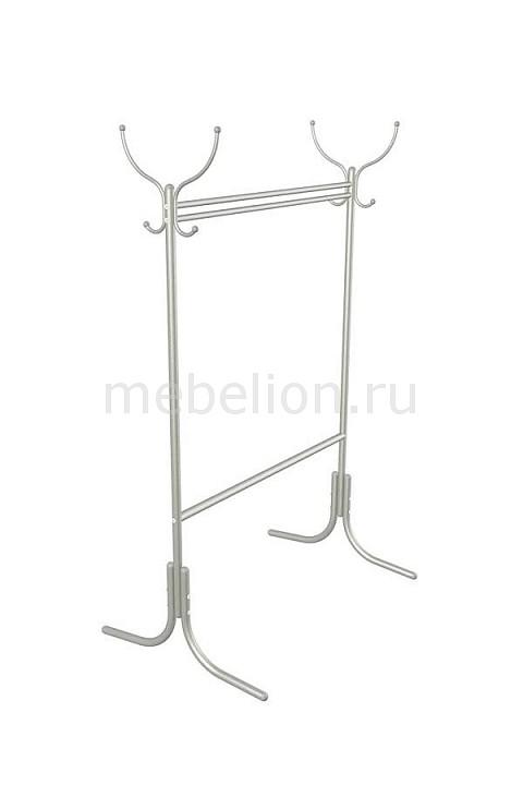 Вешалка напольная Мебелик Вешалка гардеробная М-13 алюминий вешалка напольная мебелик вешалка гардеробная галилео 216