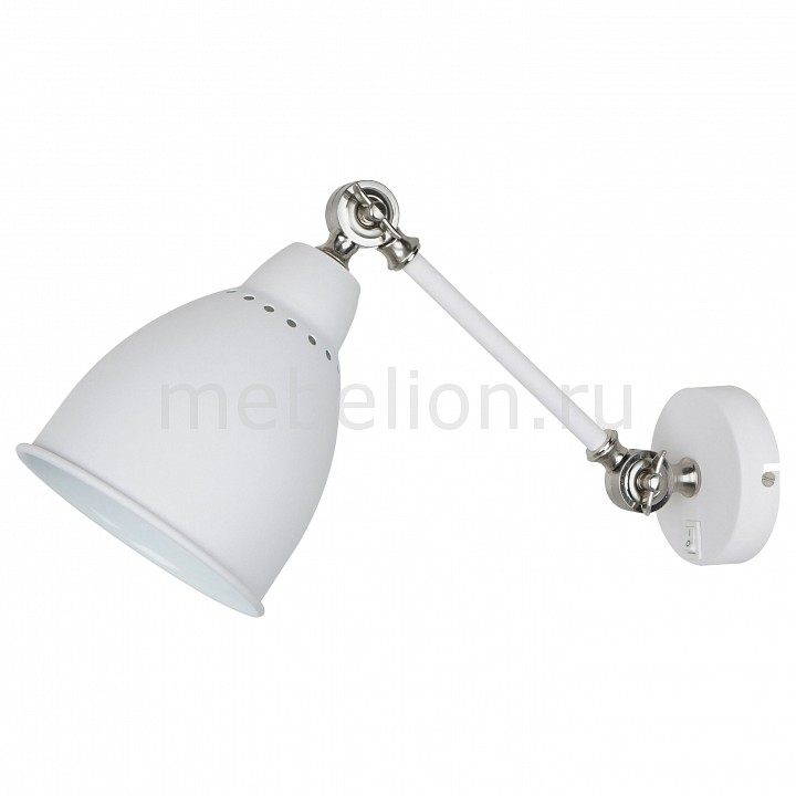 Бра Braccio A2054AP-1WH, Arte Lamp, Италия  - Купить