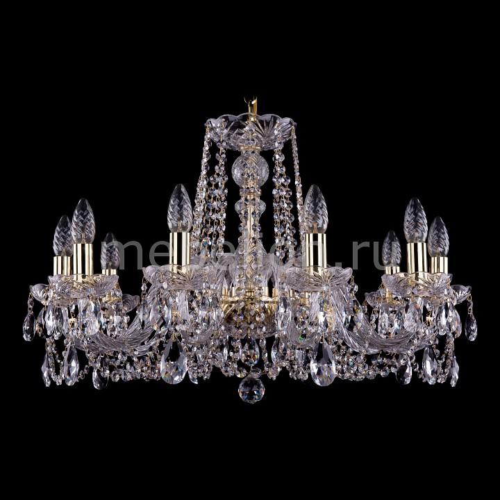 Подвесная люстра Bohemia Ivele Crystal 1402/10/240/G 1402