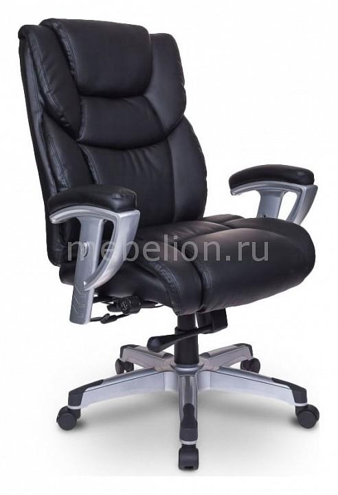 Кресло для руководителя Бюрократ T-9999/BLACK кресло для руководителя бюрократ t 9999 brown
