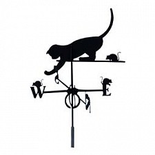 Флюгер OutDoor (58.4х59 см) Кошка и мышка 10709