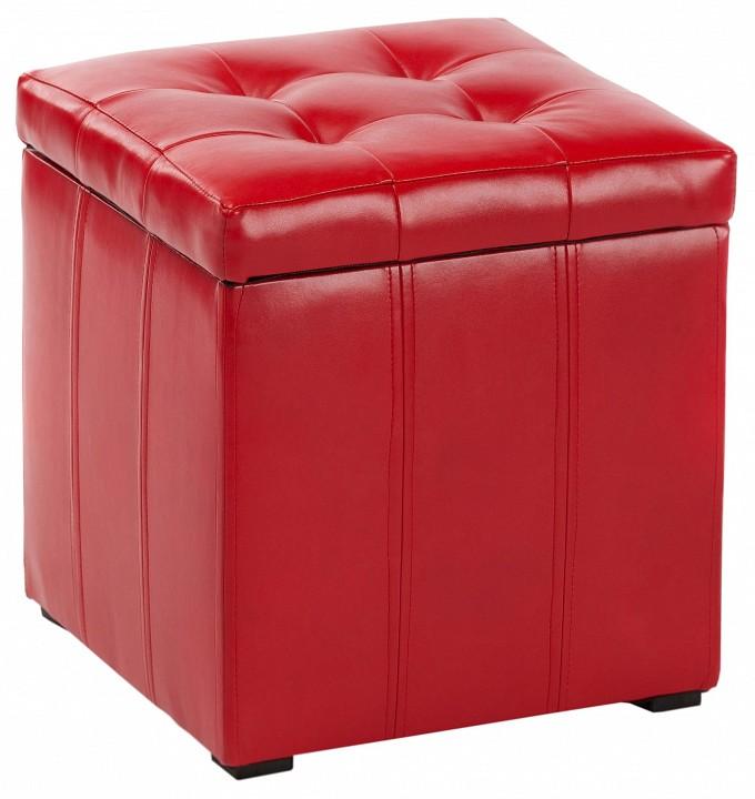 Пуф Вентал ПФ-2 красный
