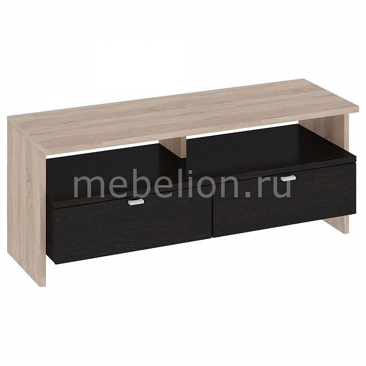 Купить Тумба под ТВ Мики Тип 2 ПМ-155.02 дуб сонома/венге цаво, Мебель Трия, Россия