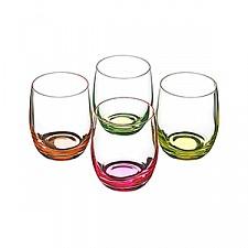 Набор из 4 стаканов Neon 674-297