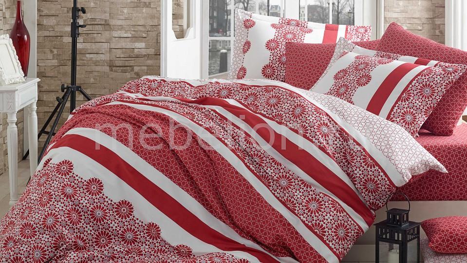 Комплект евростандарт HOBBY Home Collection LISA подставка под яйцо home queen орнамент цвет белый красный