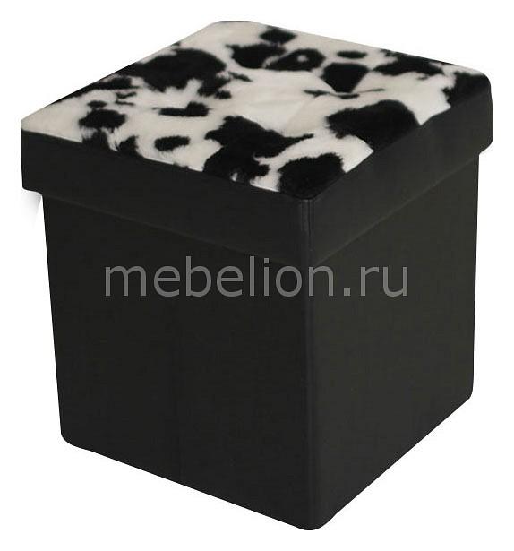 Пуф Dreambag Black cow пуф 370 370 440мм цветы