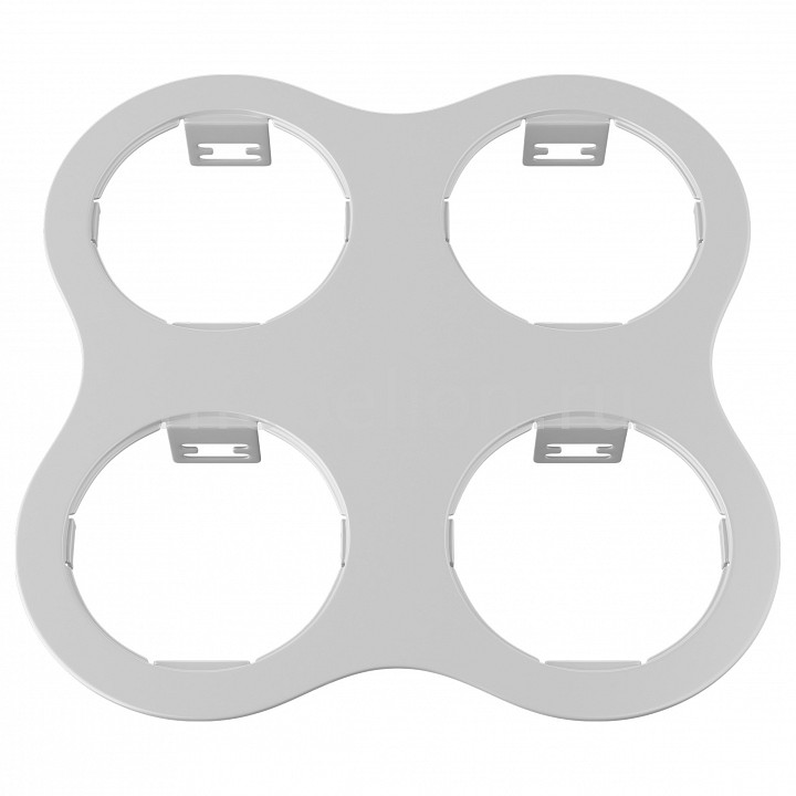 все цены на Рамка на 4 светильника Lightstar Domino 214646 онлайн