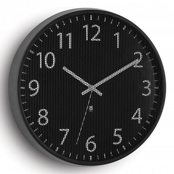 Настенные часы Umbra(31.8 см) Perftime 118422-040Артикул - FD_118422-040,Бренд - Umbra (Россия),Страна производителя - Россия,Серия - Perftime 118,Время изготовления, дней - 1,Выступ, мм - 38,Диаметр, мм - 318,Материал - нержавеющая сталь,Цвет - черный,Тип поверхности - матовый,Необходимые компоненты - 1 батарейка,Гарантия, месяцы - 12,Масса, кг - 0.6<br><br>Артикул: FD_118422-040<br>Бренд: Umbra (Россия)<br>Страна производителя: Россия<br>Серия: Perftime 118<br>Время изготовления, дней: 1<br>Выступ, мм: 38<br>Диаметр, мм: 318<br>Материал: нержавеющая сталь<br>Цвет: черный<br>Тип поверхности: матовый<br>Необходимые компоненты: 1 батарейка<br>Гарантия, месяцы: 12<br>Масса, кг: 0.6