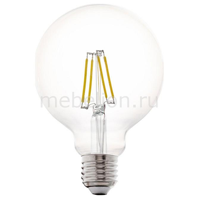 Лампа светодиодная [поставляется по 10 штук] Eglo Лампа светодиодная G95 E27 4Вт 2700K 11502 [поставляется по 10 штук] винтажная лампа эдисон radio spiral g95 32 нити