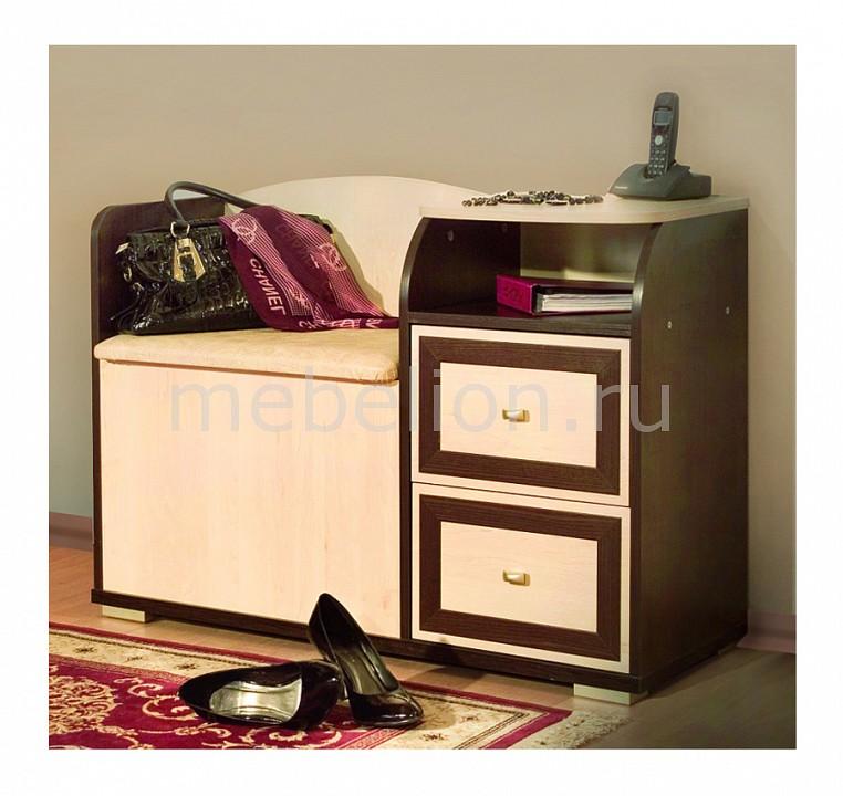 Обувница Домовой 2-40 венге/клен mebelion.ru 3131.000
