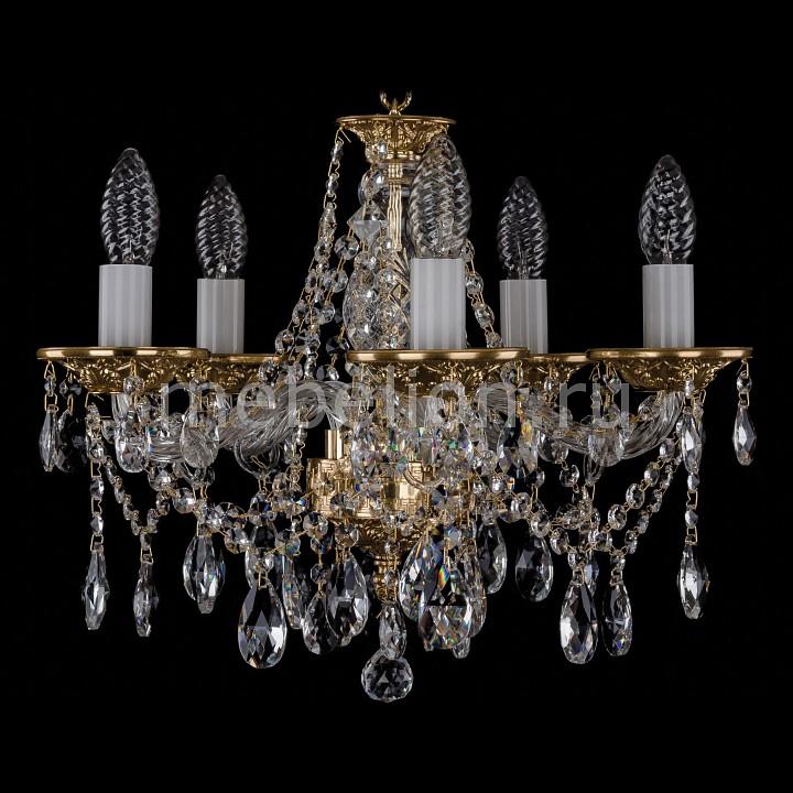 Подвесная люстра Bohemia Ivele Crystal 1613/5/141/G 1613