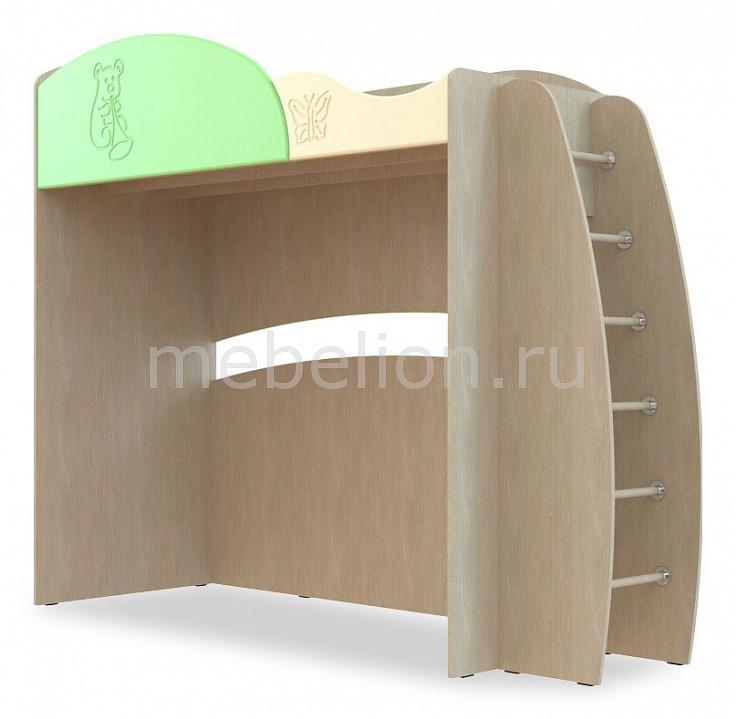Кровать-чердак Компасс-мебель Капитошка ДК-12