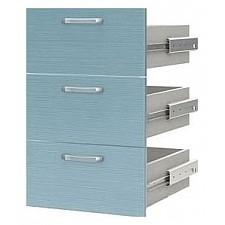Ящики для шкафа Флауэ СТЛ.093.12 шелк бирюза
