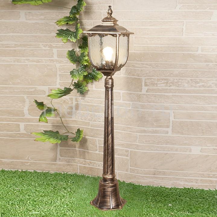 Наземный высокий светильник Elektrostandard Sculptor F черное золото (арт. GLXT-1407F) elektrostandard taurus f малахит арт glxt 1458f