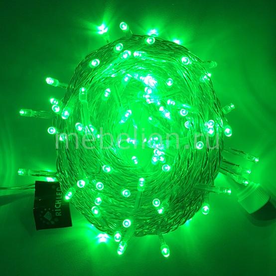 Гирлянда Нить RichLED Гирлянда нить (10 м) RL-S10C-220V-T/G гирлянда light светодиодная нить rgb 10 м 24v чёрный провод