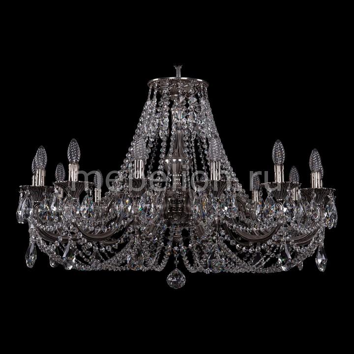 Подвесная люстра Bohemia Ivele Crystal 1702/14/335/C/NB 1702
