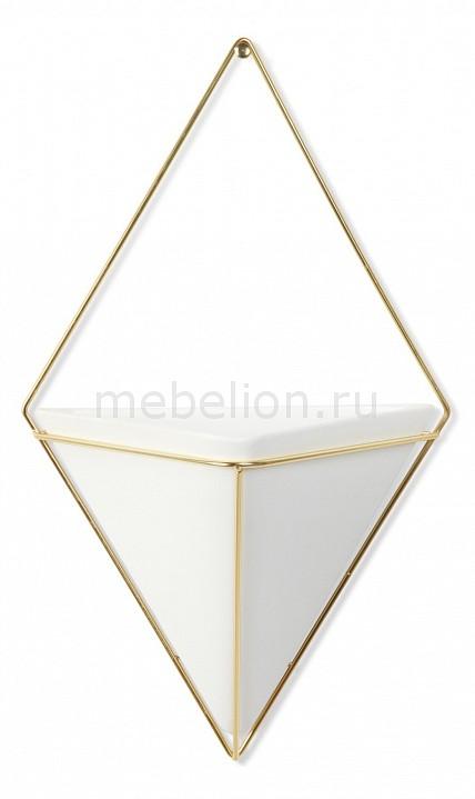 Купить Фигура настенная (21х35 см) Trigg 470752-524, Umbra, Россия, серый, металл, керамика
