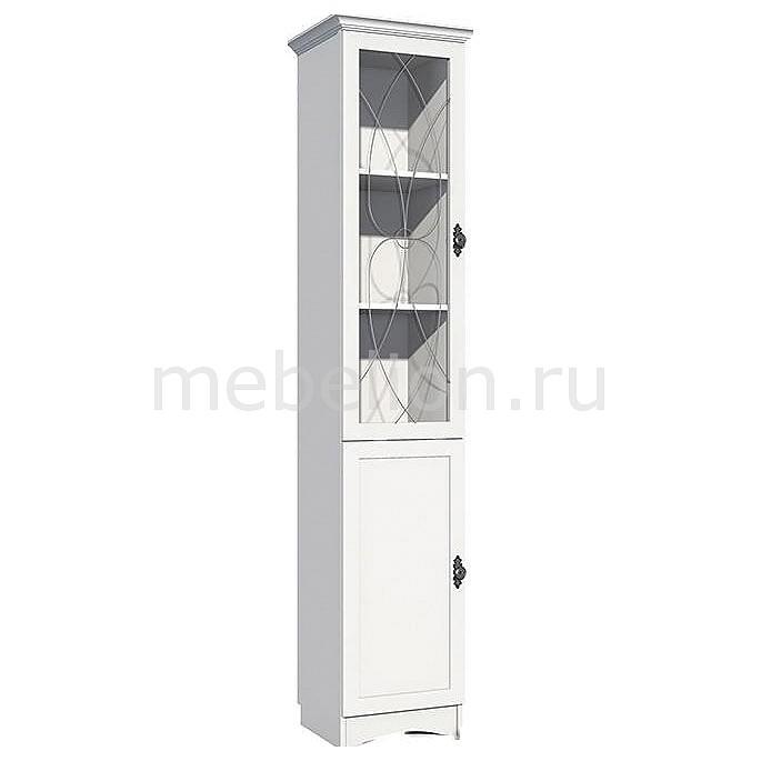 Шкаф-витрина Сильва Прованс НМ 009.08-01 шкаф комбинированный прованс нм 009 23