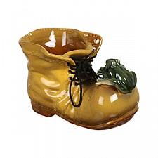 Кашпо АРТИ-М (15х10 см) Ботинок 180-315