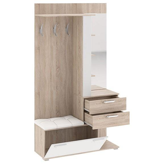 Стенка для прихожей Мебель Трия Эрика cтенка для гостиной трия нео пм 106 00 дуб сонома