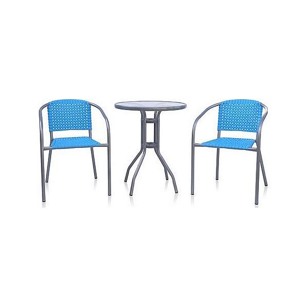 Набор уличный AfinaXRB-035А-D60 синийАртикул - AFN_XRB-035A-D60_BLUE,Бренд - Afina (Россия),Серия - XRB-035A-D60,Цвет столешницы - неокрашенный,Тип поверхности столешницы - прозрачный,Материал столешницы - стекло закаленное,Цвет корпуса - синий, сталь,Тип поверхности корпуса - глянцевый, матовый,Материал корпуса - полимер, сталь,В комплекте - Кресло ХRB-035А ,540x580x750,Стол D60 ,600x700,<br><br>Артикул: AFN_XRB-035A-D60_BLUE<br>Бренд: Afina (Россия)<br>Серия: XRB-035A-D60<br>Цвет столешницы: неокрашенный<br>Тип поверхности столешницы: прозрачный<br>Материал столешницы: стекло закаленное<br>Цвет корпуса: синий, сталь<br>Тип поверхности корпуса: глянцевый, матовый<br>Материал корпуса: полимер, сталь<br>В комплекте: Кресло ХRB-035А ,540x580x750,Стол D60 ,600x700,,