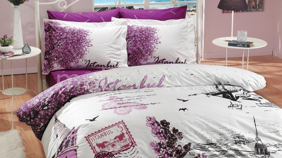 Комплект двуспальный HOBBY Home Collection ISTANBUL PANAROMA комплект постельного белья hobby home collection 1 5 сп поплин istanbul panaroma фиолетовый 1501000109