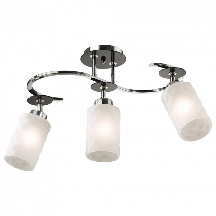 Люстра на штанге Odeon Light Bila 2282/3C бра odeon light bila 2282 1w