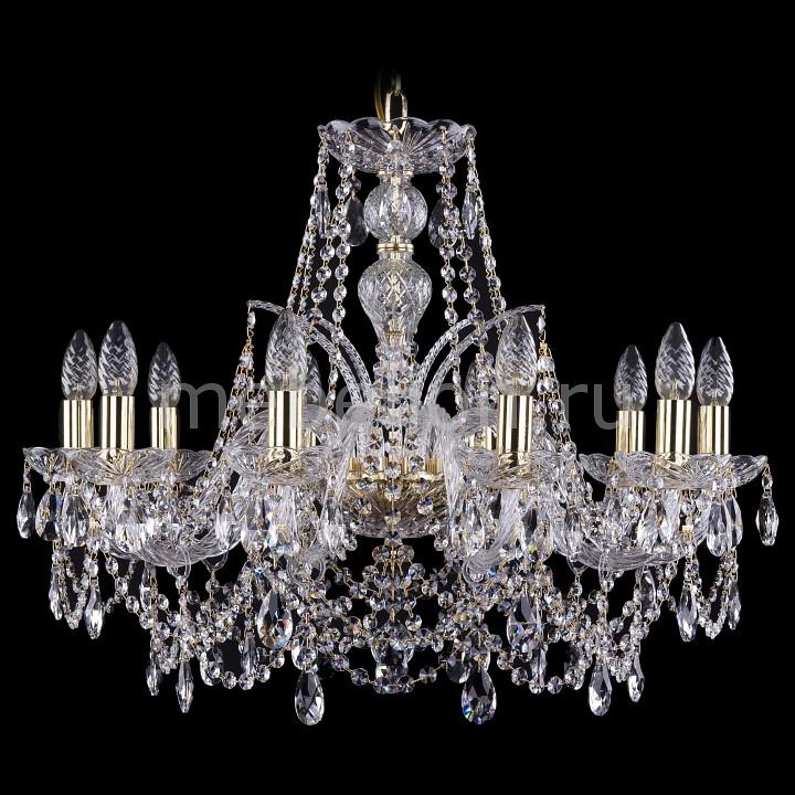 Подвесная люстра Bohemia Ivele Crystal 1411/10/240/G 1411