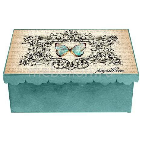 Шкатулка декоративная Бабочка 1826-10