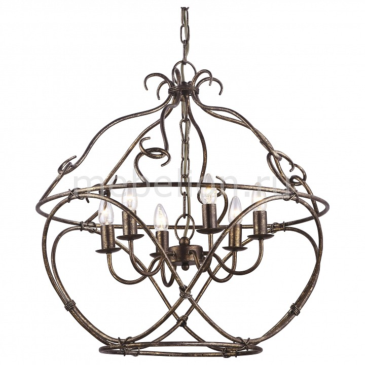 Подвесная люстра Arte Lamp A8960SP-6GA Bellator
