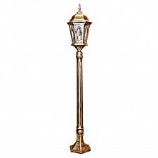 Наземный высокий светильник Витраж с овалом 11332