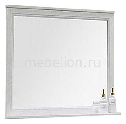 Зеркало с полкой Акватон Акватон Идель 85 классическое зеркало aquaton идель 85 дуб белый 1a195702idm70