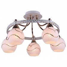 Потолочная люстра Arte Lamp A6173PL-5WG Daniella