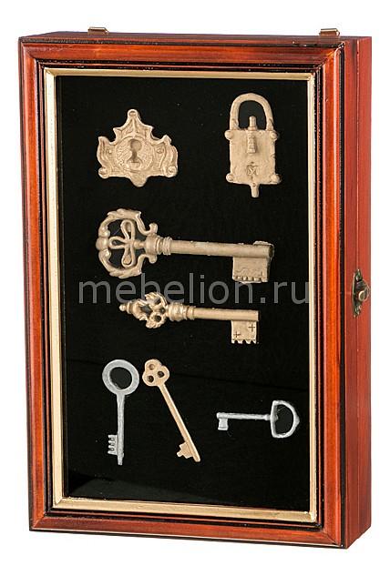 Ключница АРТИ-М (20х30 см) Ключи 271-080 статуэтка арти м 37 см дама 50 029