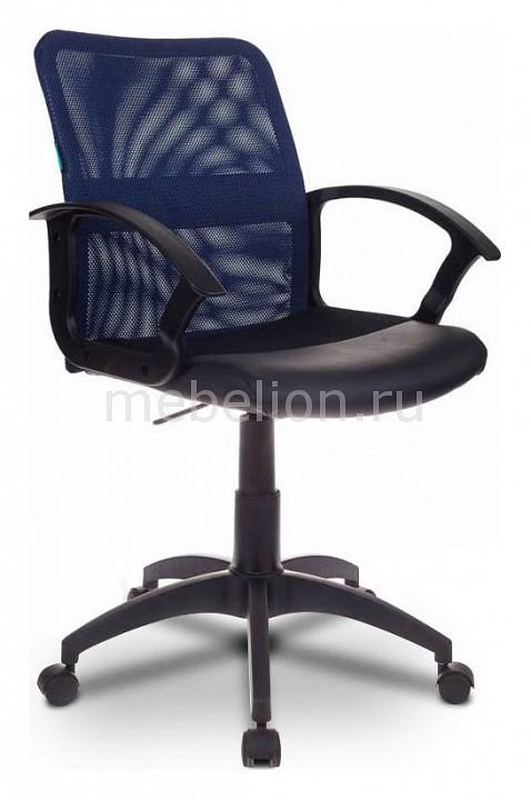 Кресло компьютерное Бюрократ CH-590/BL/BLACK компьютерное кресло бюрократ ch 829 bl black black black