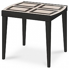 Стол обеденный Танго Т1 С-361 венге/стекло с рисунком