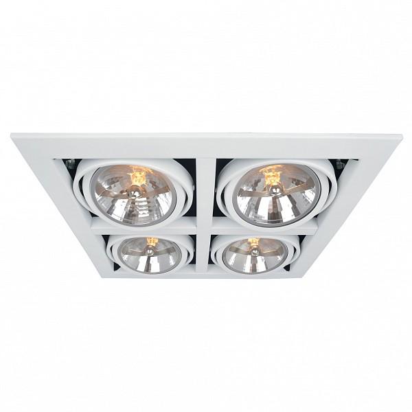 Встраиваемый светильник Cardani A5935PL-4WH