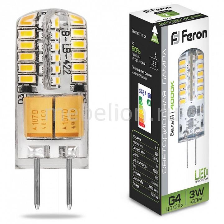 Лампа светодиодная Feron Saffit LB-422 G4 12В 3Вт 4000K 25532