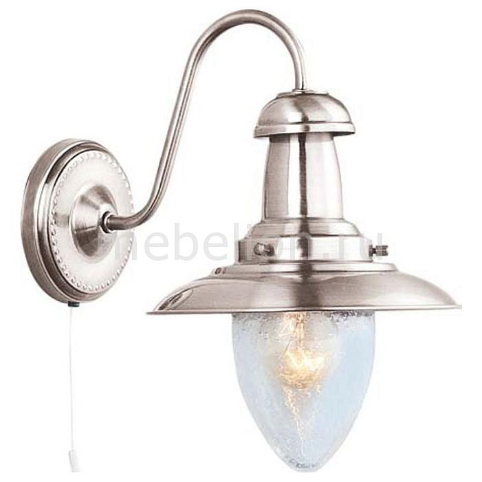 Бра Arte Lamp A5518AP-1SS Fisherman